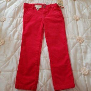 Osh Kosh NWT red pants with EZ Adjust Waist